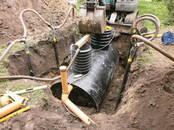 Строительные работы,  Строительные работы, проекты Канализация, водопровод, цена 300 €, Фото