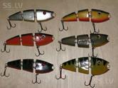 Охота, рыбалка,  Удочки и снасти Блёсна, приманки, цена 9 €, Фото