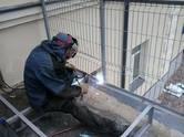 Būvdarbi,  Būvdarbi, projekti Metināšanas darbi, Foto
