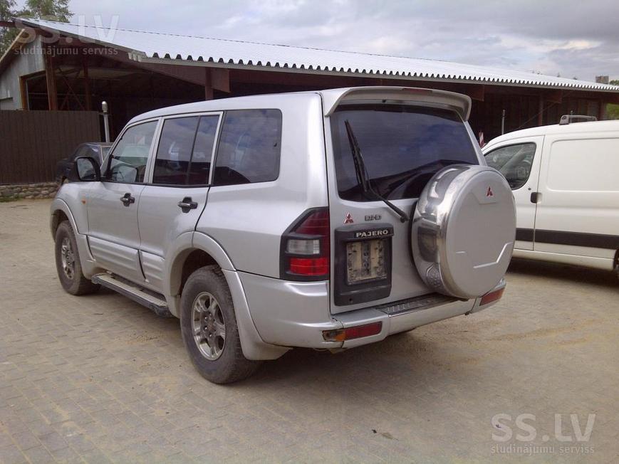 Mitsubishi pajero 2 запчасти