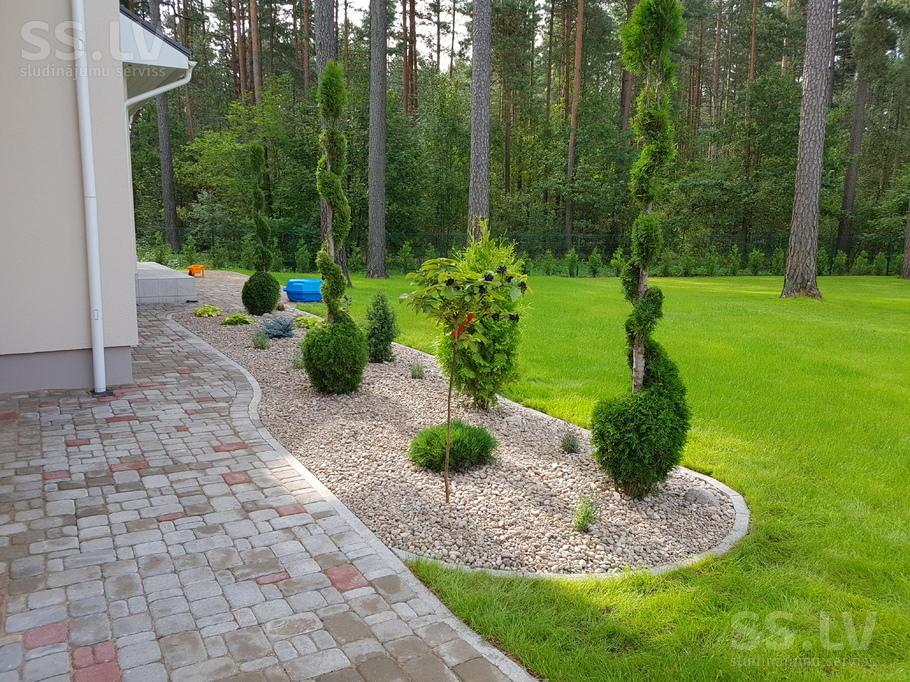 Формирование газона на полотняной основе 59
