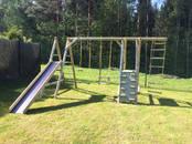 Mēbeles, interjers,  Dārza mēbeles un aksesuāri Bērnu rotaļu laukumi, šūpoles, cena 350 €, Foto