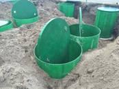 Būvmateriāli Kanalizācijas grodi, caurules, notekas, Foto