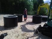 Строительные работы,  Строительные работы, проекты Канализация, водопровод, цена 10 €, Фото