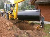 Строительные работы,  Строительные работы, проекты Канализация, водопровод, цена 200 €, Фото