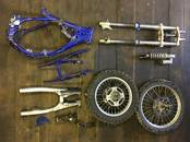 Запчасти и аксессуары Запчасти от одного мотоцикла, цена 290 €, Фото