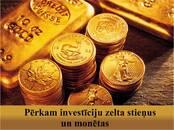 Kolekcionēšana,  Monētas, kupīras Investīciju zelts (zelta stieņi), Foto