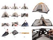 Туризм,  Туристический инвентарь Палатки, цена 86 €, Фото